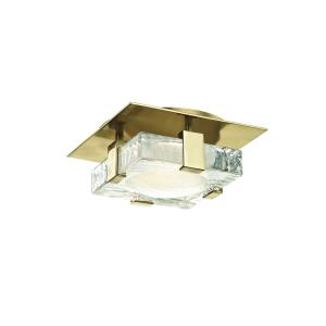 Bourne LED 8 InchW Wall/Flush Mount - 8 Inches Wide by 8 Inches High