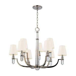 Adams - Nine Light Chandelier - 33 Inches Wide by 25.75 Inches High
