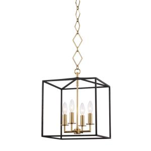 Richie - 4 Light Pendant - 13 Inches Wide by 24.5 Inches High
