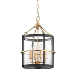 Ren - 4 Light Pendant - 13.75 Inches Wide by 20 Inches High