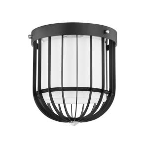 Landon - One Light Flush Mount in Transitional Style - 12 Inches Wide by 15 Inches High