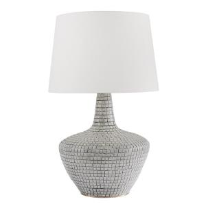Truxton Transitional 1 Light Table Lamp in Transitional Style - 19 Inches Wide by 31 Inches High