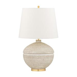 Katonah - 1 Light Table Lamp in Transitional Style - 15.5 Inches Wide by 23.75 Inches High