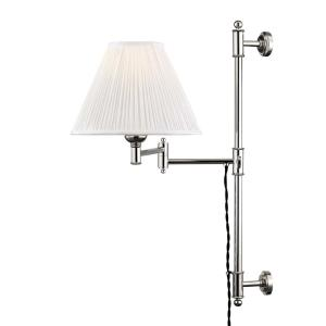 Classic No.1 - 1 Light Classic Swing Arm Wall Sconce