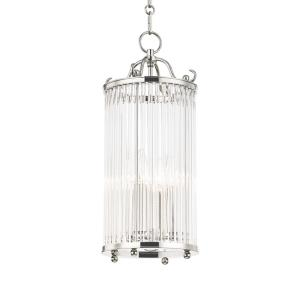 Glass No.1 - 4 Light Pendant - 8.75 Inches Wide by 20 Inches High