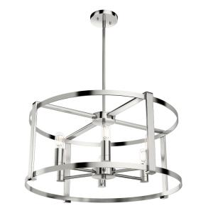 Astwood - Six Light Drum Chandelier