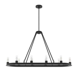 Saddlewood-10 Light Chandelier in Chandelier Style-16 Inches Wide by 22 Inches High
