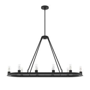 Saddlewood - 10 Light Chandelier