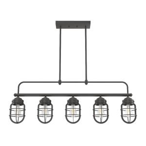 Starklake-5 Light Chandelier in Caged Style-5 Inches Wide by 14.5 Inches High