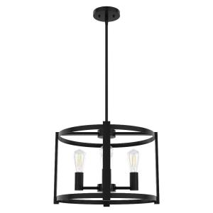 Astwood-4 Light Chandelier in Caged Style-18 Inches Wide by 13 Inches High