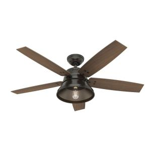 Beech Hollow - 52 Inch Ceiling Fan with Light Kit and Remote Control