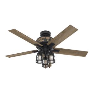 Vista-Ceiling Fan with Light Kit in Casual Style-52 Inches Wide by 20.1 Inches High