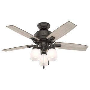 Donegan - 44 Inch Ceiling Fan with Light Kit