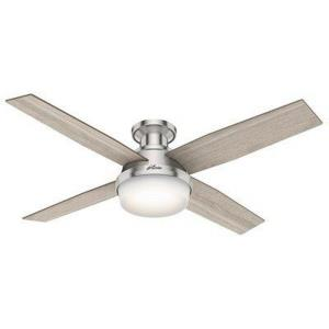 Dempsey - 52 Inch Ceiling Fan with Light Kit