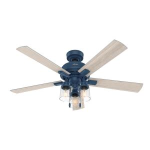 Hartland - 52 Inch Ceiling Fan with Light Kit and Pull Chain