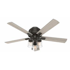 Hartland - 52 Inch Low Profile Ceiling Fan with Light Kit