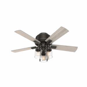 Hartland - 44 Inch Low Profile Ceiling Fan with Light Kit