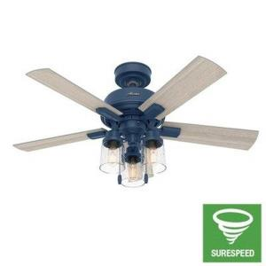 "Pelston - 52"" Ceiling Fan with Light Kit"