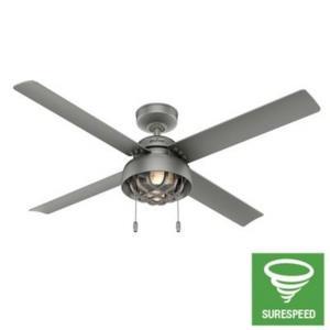 Pelston - 44 Inch Ceiling Fan with Light Kit