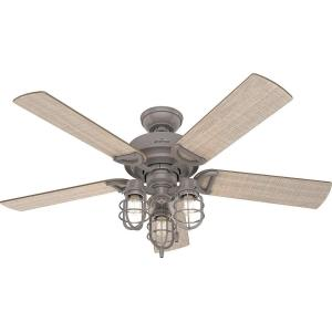Starklake - 52 Inch Ceiling Fan with Light Kit
