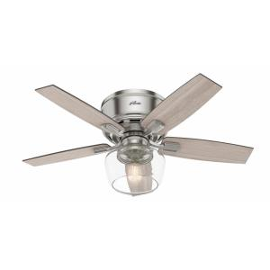 Bennett - 44 Inch Low Profile Ceiling Fan with Light Kit