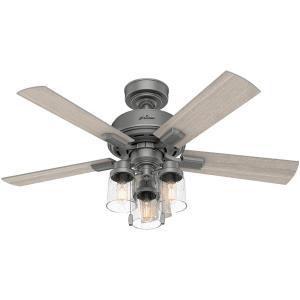 Pelston - 52 Inch Ceiling Fan with Light Kit