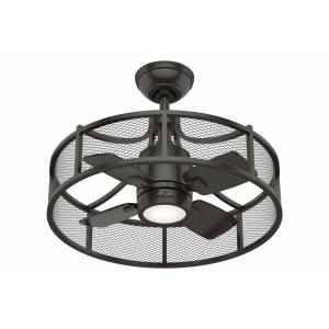 Seattle - 30 Inch 4 Blade Ceiling Fan with Light Kit and Wall Control