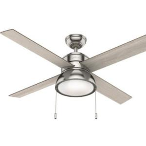 """Loki 52"""" Ceiling Fan with LED Light and Pull Chain"""