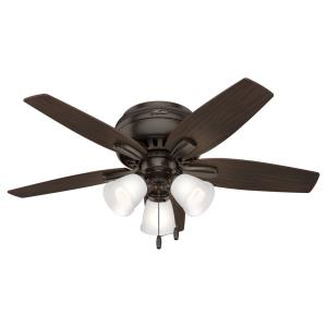 Newsome-Ceiling Fan with Light Kit-42 Inches Wide by 14.56 Inches High