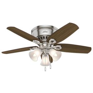 Builder Low Profile - 42 Inch Ceiling Fan with Light Kit
