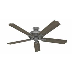 Royal Oak-5 Blade Ceiling Fan with Handheld Remote in Traditional Style-60 Inches Wide by 12.91 Inches High
