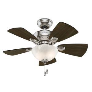 """Watson - 34"""" Ceiling Fan with Light Kit"""
