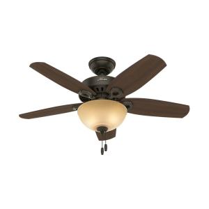 "Builder Small Room - 42"" Ceiling Fan with Light Kit"