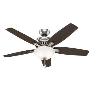 Newsome - 52 Inch Ceiling Fan with Light Kit