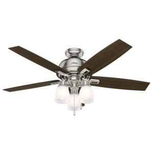 Donegan-Ceiling Fan with Kit-52 Inches Wide by 12.02 Inches High