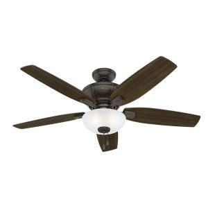 Kenbridge-Ceiling Fan with Light Kit-52 Inches Wide by 16.48 Inches High