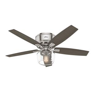 Bennett-Ceiling Fan with Light Kit-52 Inches Wide by 15.95 Inches High