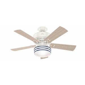 Cedar Key - 44 Inch Outdoor Ceiling Fan with Light Kit