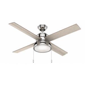 """Loki - 52"""" Ceiling Fan with Light Kit"""