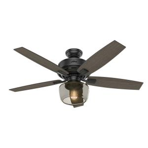Bennett - 52 Inch Ceiling Fan with Globe Light Kit