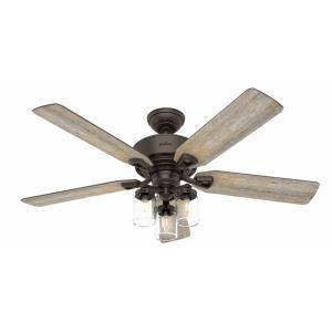 "Devon Park - 52"" Ceiling Fan with Light Kit"