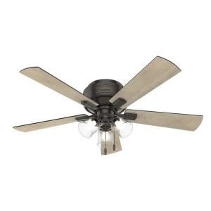 Crestfield - 52 Inch Ceiling Fan with Light Kit