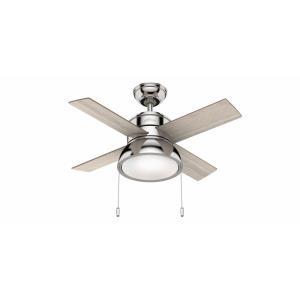 Loki - 36 Inch Ceiling Fan with Light Kit
