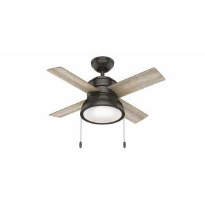 Loki - 36 Inch Ceiling Fan with Light Kit