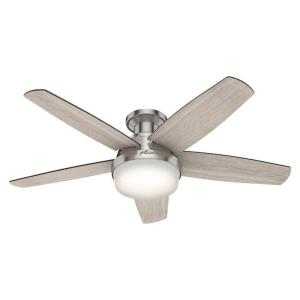 Avia - 48 Inch Ceiling Fan with Light Kit and Remote Control