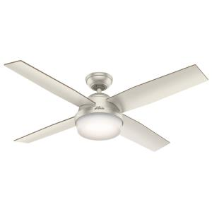 Dempsey Damp - 52 Inch Ceiling Fan with Light Kit