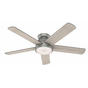Romulus-Ceiling Fan with Light Kit-54 Inches Wide by 12.12 Inches High