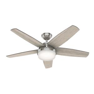 Avia - 52 Inch Ceiling Fan with Light Kit and Remote Control