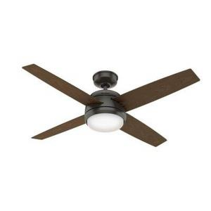 Sunnyvale-Outdoor Ceiling Fan with Pull Chain in Tropical Style-52 Inches Wide by 12.85 Inches High
