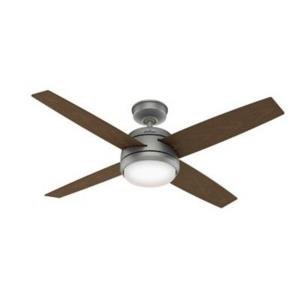 Oceana - 52 Inch Ceiling Fan with Light Kit and Wall Control